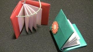 Repeat youtube video 【おりがみ】とってもわかりやすい本の折り方 Comment plier l'origami facilement