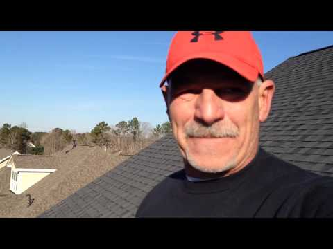 Easy money cleaning gutters. 60 yr old walks roof.