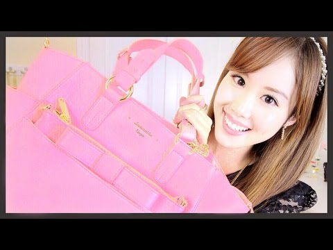 What's In My Bag & Organization Tips!【私のカバンの中身と収納テクニック】