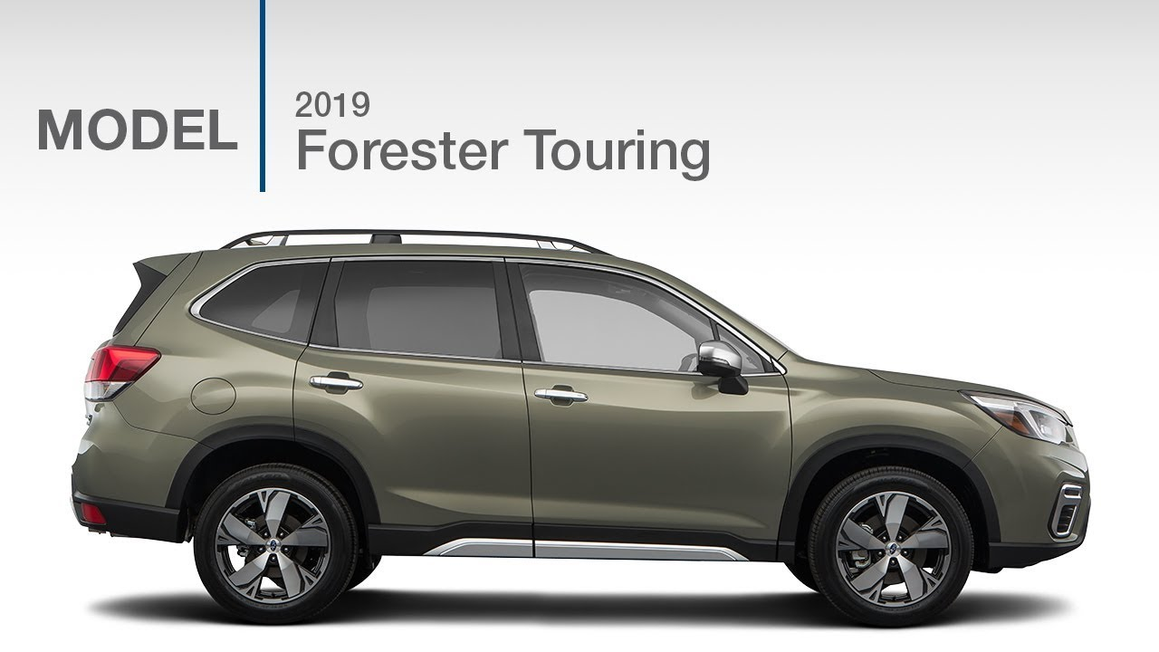 2019 Subaru Forester Touring Model Review Youtube