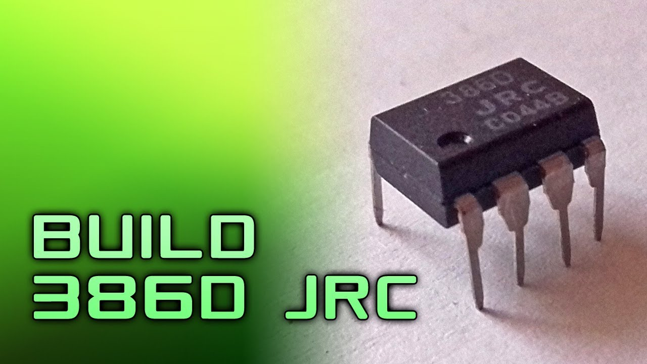 Build 386d Jrc Lm386 On Breadboard Medium Difficulty Youtube Working Operation Of Audio Amplifier Ic