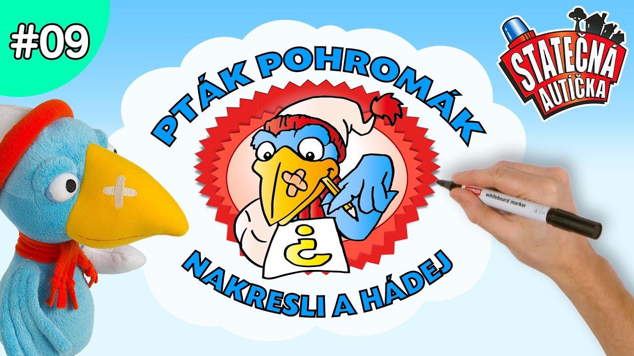 Statečná autíčka – Nakresli a hádej a Ptákem Pohromákem | Kreslené pro Děti | Animované pro Děti
