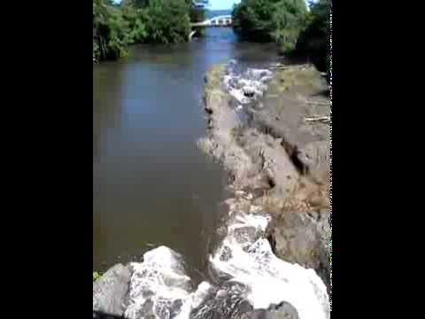 River Flow Backwards After Earthquake