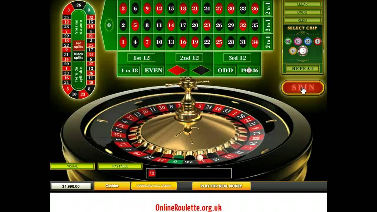 Roulette online senza registrazione