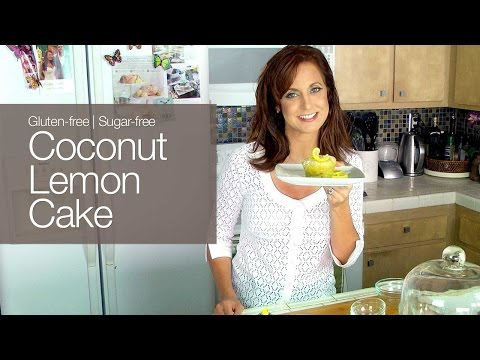 Gluten-free Sugar-Free Coconut Lemon Cake kimTV
