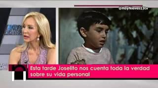 """Joselito:""""no estaba preparado para que mi mundo del cine se acabase tan pronto"""", Hoy Nieves"""