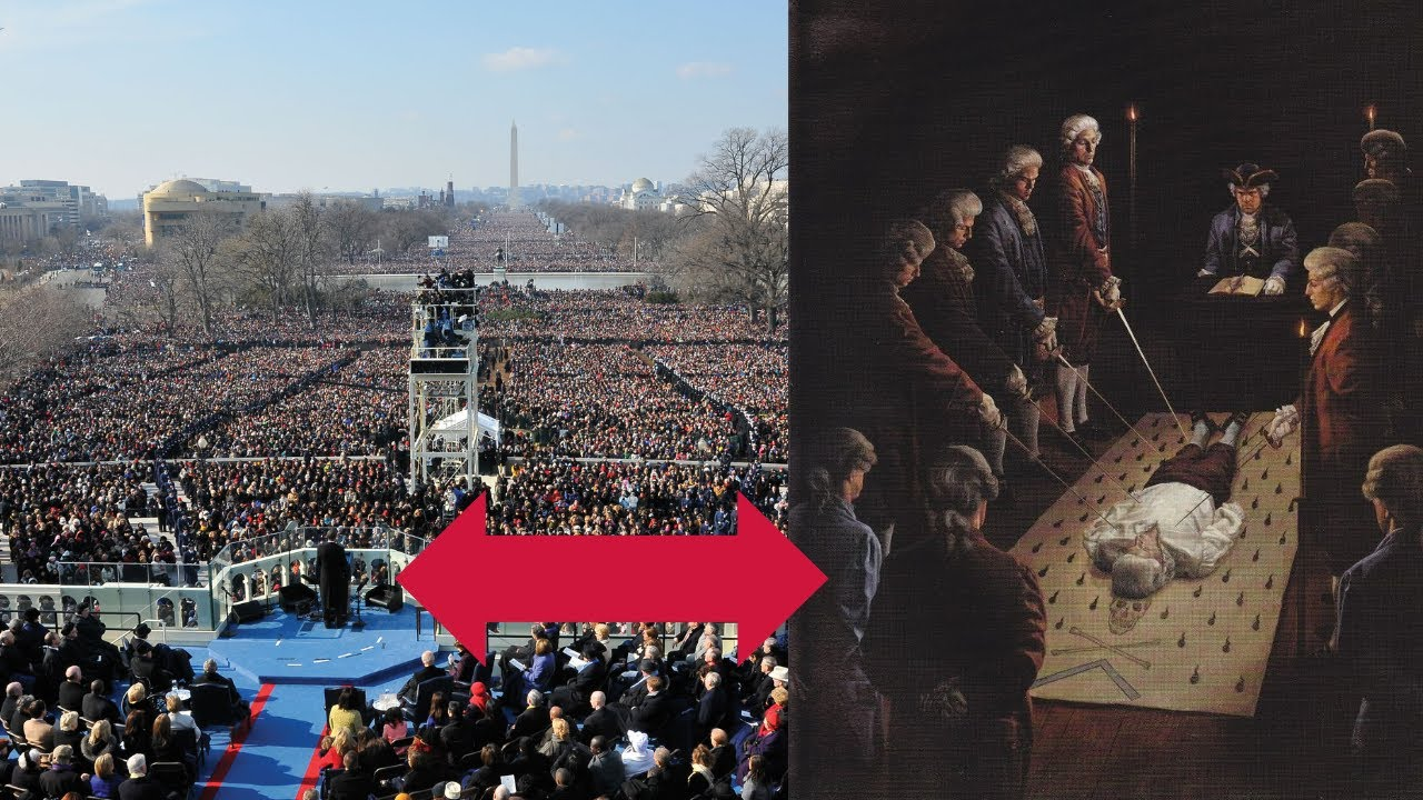 SOMETHING CREEPY HAPPENS DURING THE PRESIDENTIAL INAUGURATION