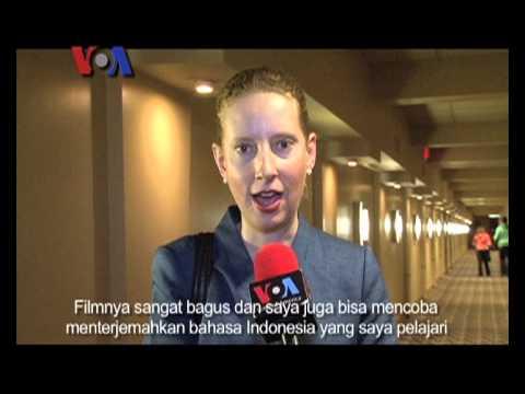 Festival Film Indonesia Mini dan Nicholas Saputra di Washington DC - VOA untuk Insert
