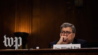 How Barr defended his handling of the Mueller report to the Senate