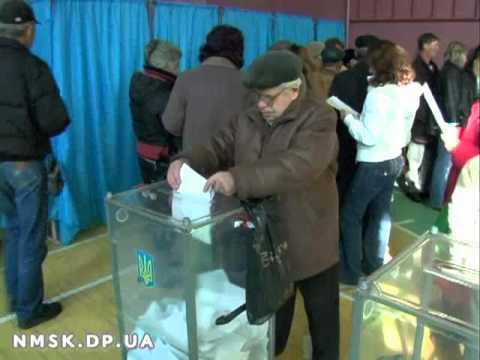 0 Результаты выборов мэра Новомосковска 2010