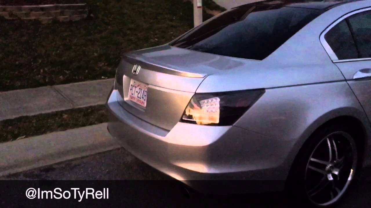2010 Honda Accord modifications - YouTube
