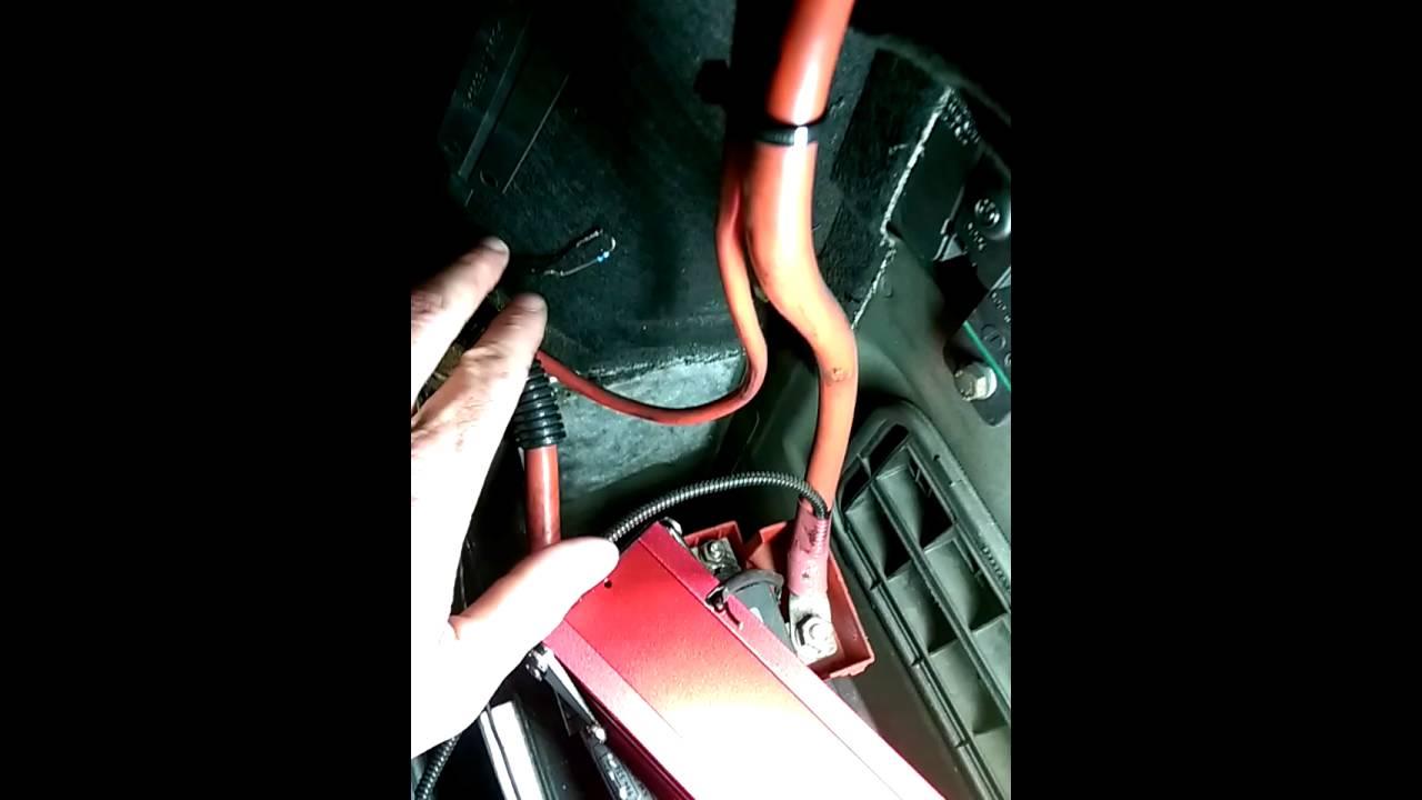 BMW 5er 525  Airbag Simulator für alle Airbags und Gurtstraffer im Fahrzeug