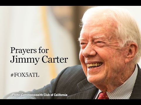 Jimmy Carter speaks on cancer diagnosis