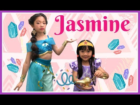 Jasmine Makeover with Kaycee & Rachel