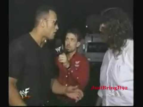 The Rock and Mankind Interview Unforgiven 1999