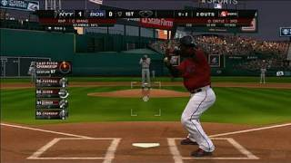 Major League Baseball 2K8 Xbox 360 Gameplay - Papi Takes a