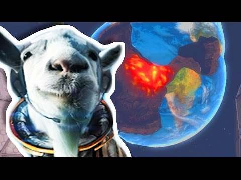 I BLEW UP THE EARTH?!?!   Goat Simulator