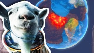 Repeat youtube video I BLEW UP THE EARTH?!?! | Goat Simulator