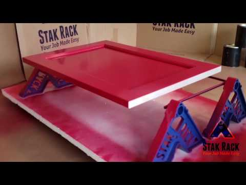 Using STAK RACKS with cabinet bracket accessory