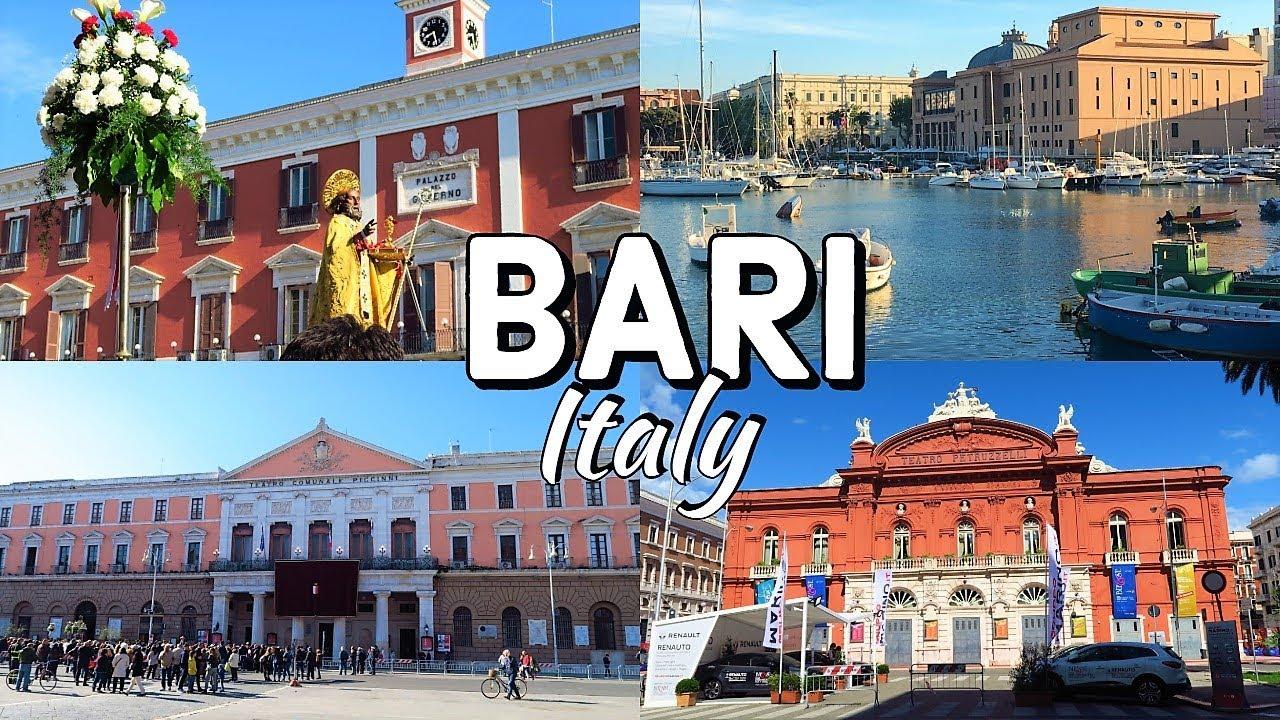 Bari city tour italy youtube for Be italia