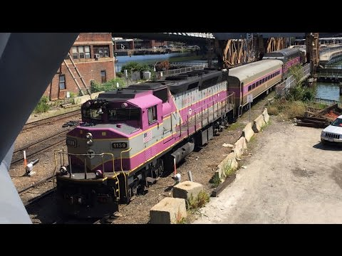 Railfanning Boston North Station 8/24/16
