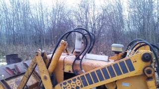 My Little Case 450 track loader!!! Part 1