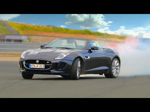 Jonny Tests The Jaguar F-TYPE - Fifth Gear