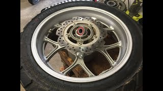 Honda NC750X - Motorcycle Wheel Bearing Replacment
