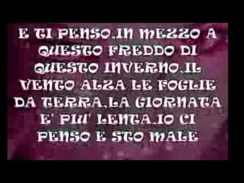 ~♡`♥~NINO D'ANGELO E TE PENZO E STO MALE~♡`♥~