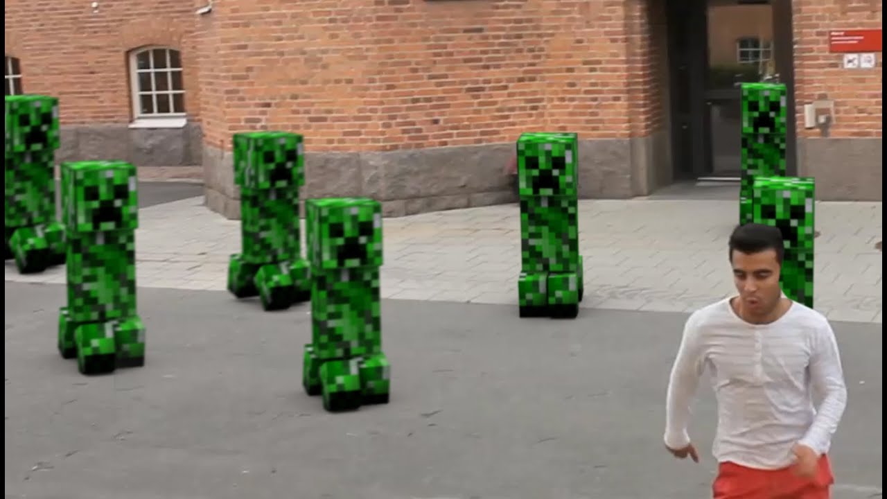 Creeper in real life - photo#23