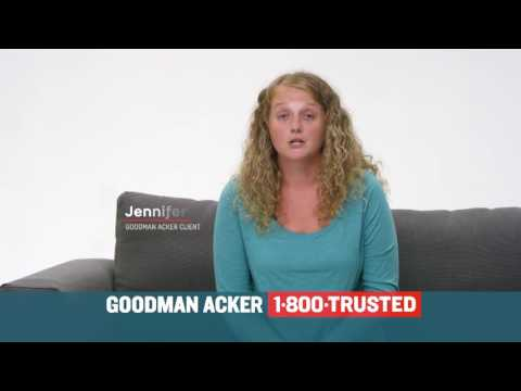 Goodman Acker TV Ad 1-800-TRUSTED - The Only Number To Call When You Need a Lawyer