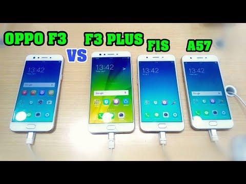 Oppo F3 Vs Oppo F3 Plus, F1s, A57