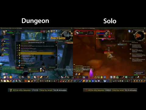 Dungeon Leveling vs Solo Quest Leveling World of Warcraft