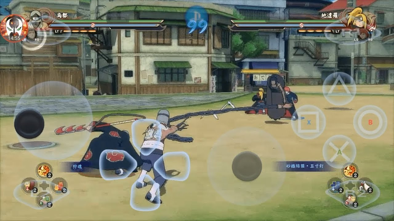Naruto Shippuden Ultimate Ninja Storm 4 - Android Gameplay + Download Link