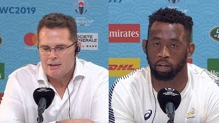 Rassie Erasmus welcomes Japan Rugby Championship discussion || Japan vs South Africa Rugby World Cup