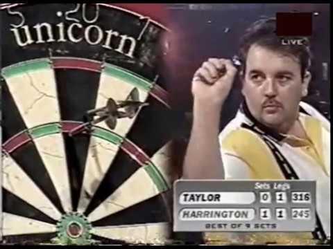 Phil Taylor vs. Rod Harrington - Semi-Final - 1998 PDC World Championship