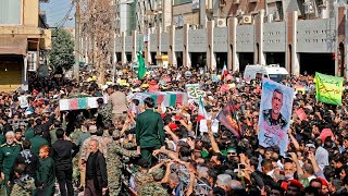 Thousands attend funeral for victims of Iran military parade attack