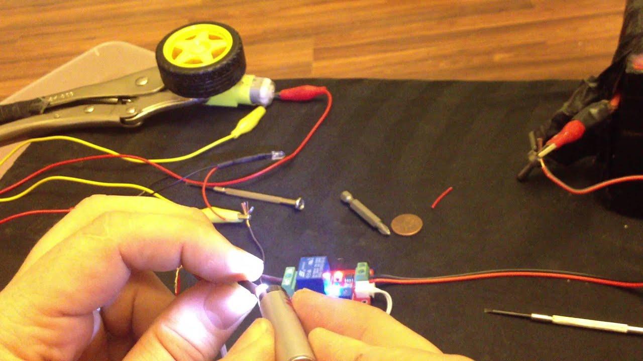 12V car Led light control photoresistor relay module light detection ...