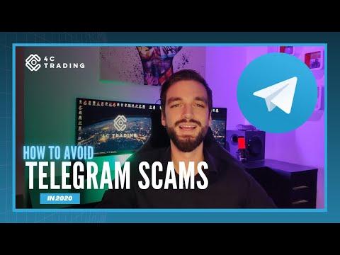 How To Avoid Telegram Scams In 2020 #crypto #telegram #scam #4ctrading