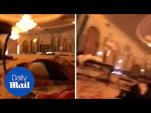 Footage shows hotel where Saudi Arabian officials are being held - Daily Mail