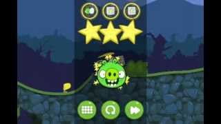 Bad Piggies 4-14 Flight in The Night level 14 Walkthrough 3 Stars (one shot)
