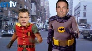 Matt damon reacts to ben affleck becoming batman