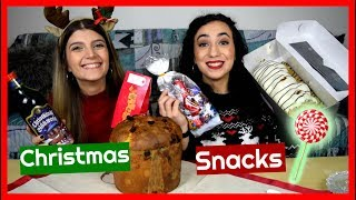 Δοκιμάζουμε Χριστουγεννιάτικα Γλυκά || Dodo