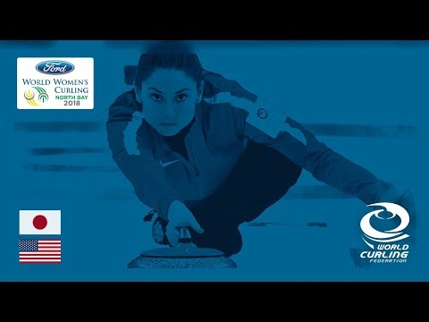 Japan v United States - Round-robin - Ford World Women's Curling Championships 2018