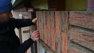Verbandsturz mauern, Soldier course, brickwork, bricklaying, кладка прямой перемычки в Германии.