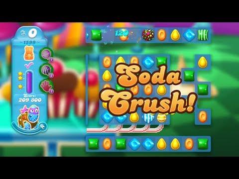 Candy Crush Soda Saga Level 1599 (3 stars, No boosters)