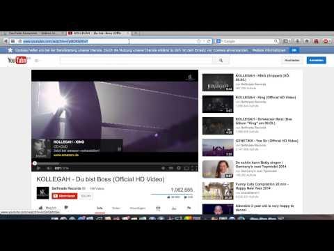 PS3 - Videos & Mp3's herunterladen (YouTube etc.) - Tutorial - Deutsch HD