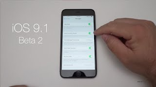 iOS 9.1 Beta 2 - What