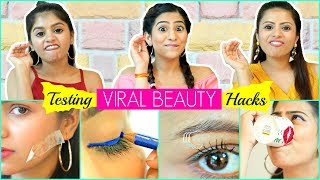Testing VIRAL BEAUTY Hacks ...| #Fun #Anaysa