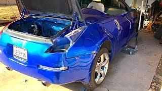 Rebuilding the Copart Nissan 350z PT 1: Hidden Damage
